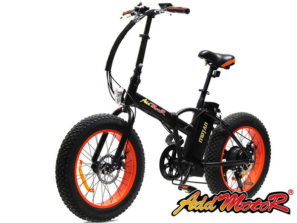 Addmotor Motan Fat Tire Folding Electric Bicycle