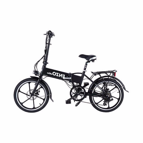 Enzo Folding Electric Bike - Aluminum Frame Rust Resistant