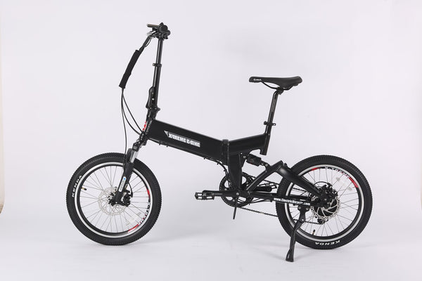 X-Treme E-Rider 48V Mini Folding Electric Bicycle