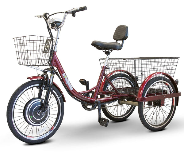 EWheels EW-29 Red Electric Trike