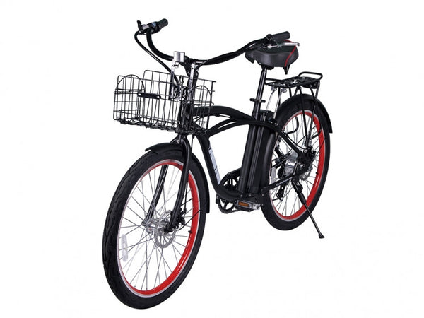 X-Treme Newport Electric Beach Cruiser Bike