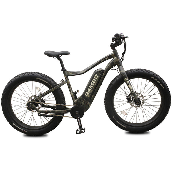Rambo R750 G4 Camo Fat Tire Electric Bike