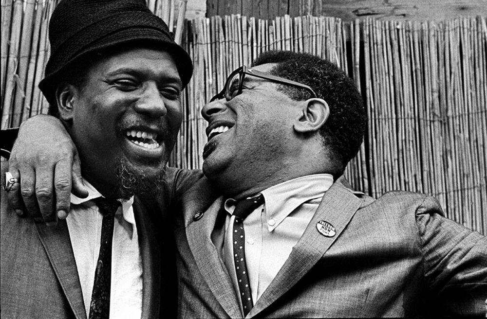 Grandfather and Thelonious Monk