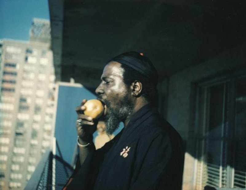 Thelonious Monk Eating Apple