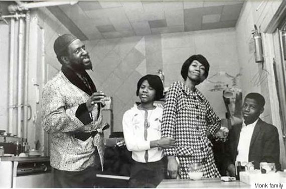 Thelonious Monk Family Picture