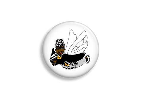 Flying Monk Pin