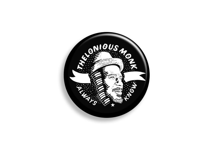 Monk Logo Pin