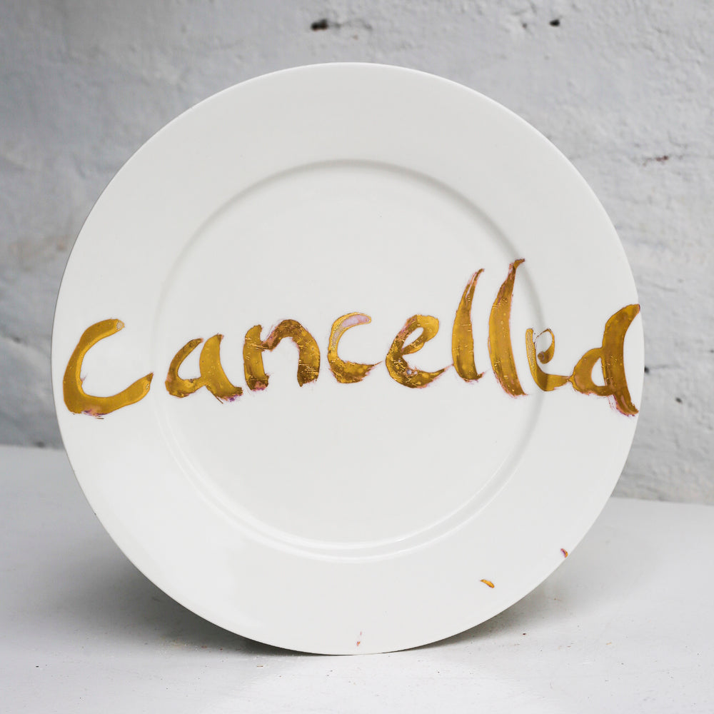 cancelled plate