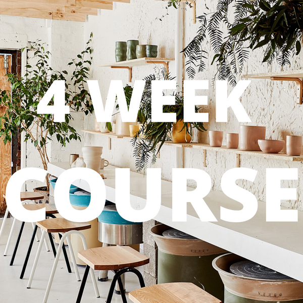 4 Week Wheel and Glaze course