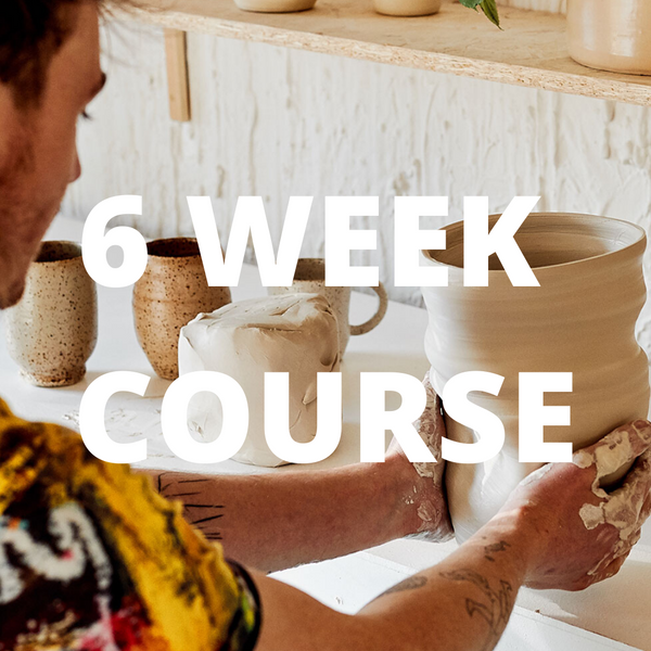 6 Week Wheel and Glaze course