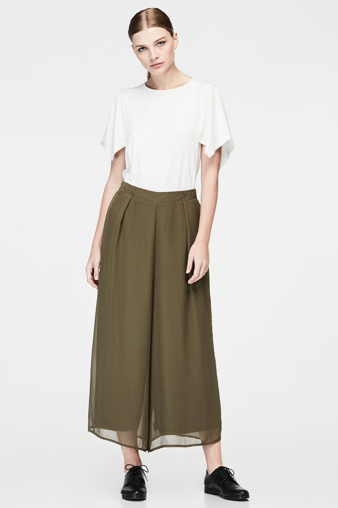 DOUBLE LAYER LONG PANTS
