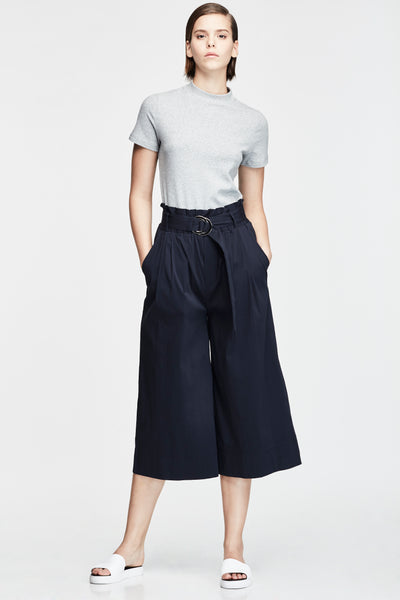 BUCKLE RIBBON BELT CULOTTES