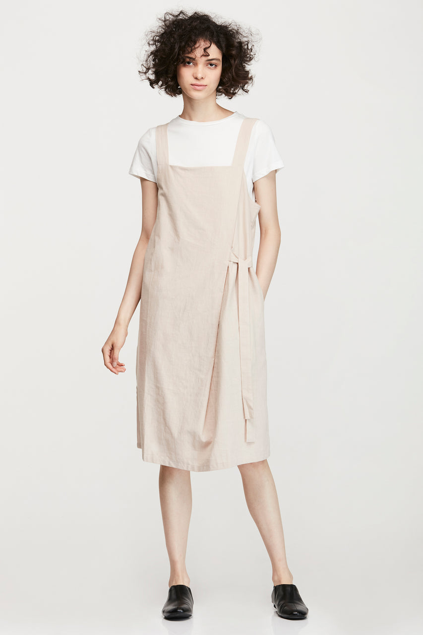 TWO PIECES COTTON DRESS
