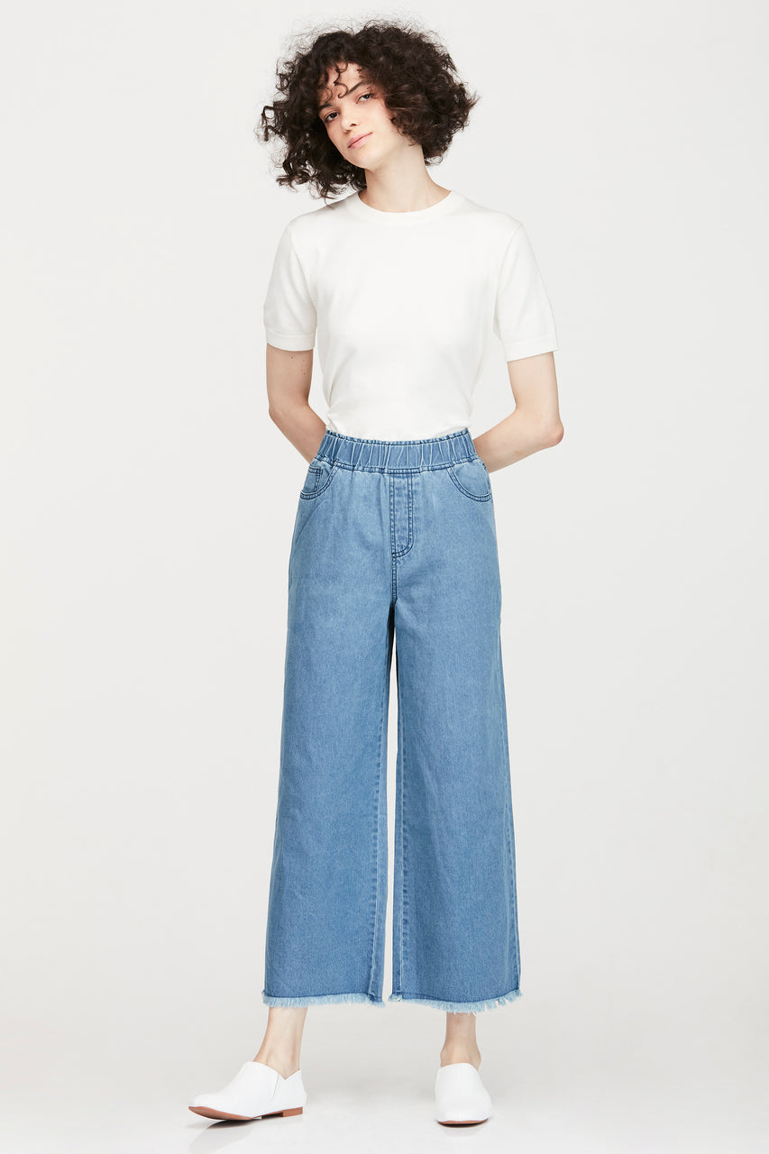 BAGGY DENIM LONG PANTS