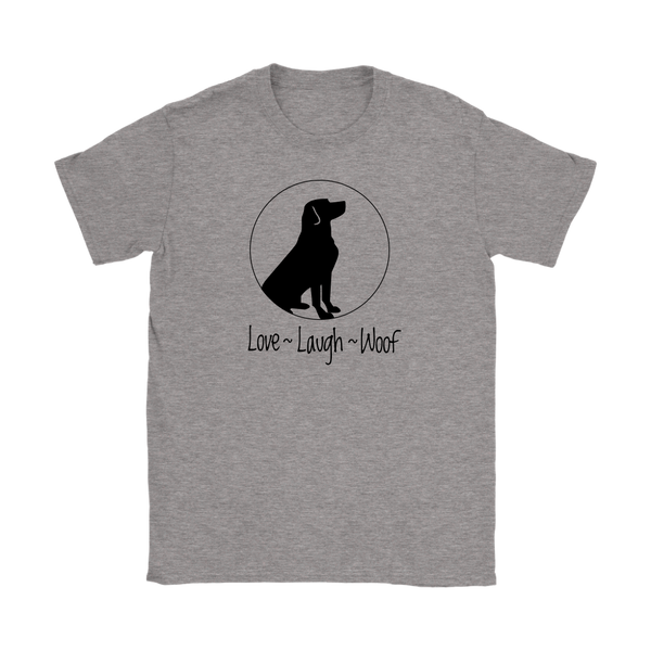 Love, Laugh, Woof logo collection