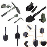 Military Folding Shovel Survival Spade