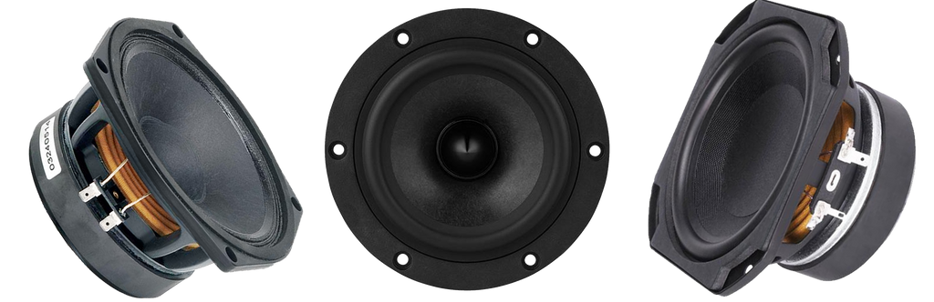 Fullrange and Midrange speaker drivers at best prices