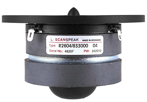 ScanSpeak Discovery R2604/8330 Tweeter Dual Ring Radiator Tweeter - Rhythm Audio Design