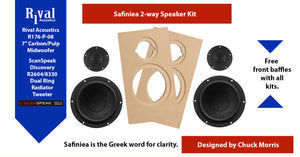 Safiniea - 2 Way (Paper) Kit Pair - Rhythm Audio Design