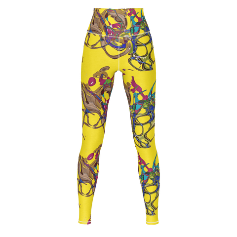 Color Keys Yellow - Yogi Pants