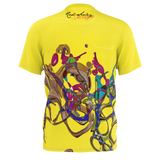 Color Keys Yellow - Men's Pocket T