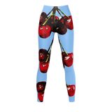 CHERRY DELIGHT - Blue LEGGINGS