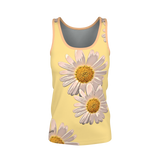 Daisys Yellow - Womens Tank Top