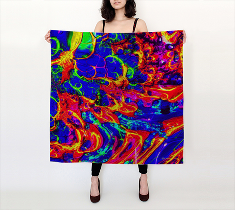 Color Fusion - Square Scarf
