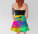 Points of Color - Flair Skirt