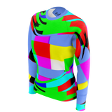 Color Waves Blue - Womens Sweat Shirt