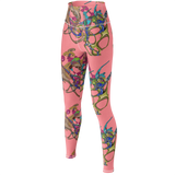 Color Keys Pink - Yoga Pants