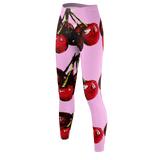 CHERRY DELIGHT - Pink LEGGINGS