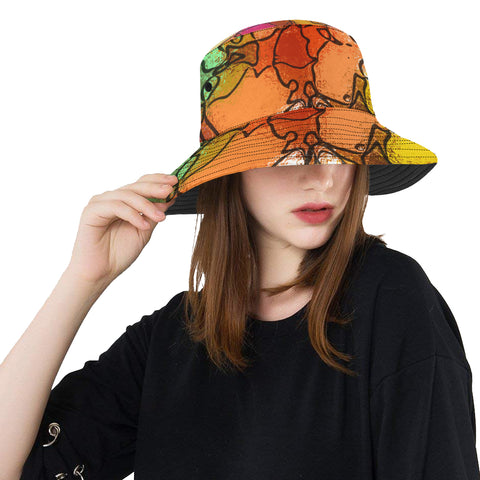 Mosaic Magic Unisex Bucket Hat