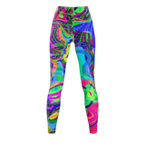 Colorful Maze - Leggings