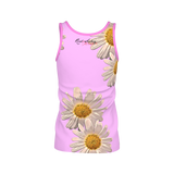 Daisys Pink - Womens Tank Top