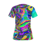 Colorful Maze - Womens T Shirt