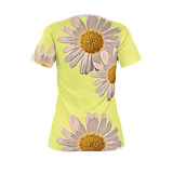 Flower Fantasy Yellow - Women's Tee