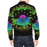 Surfboard Magic Men's All Over Print Casual Jacket (Model H19)