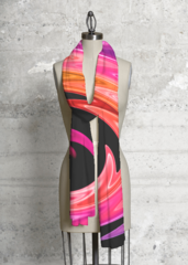 Color Swirl Dreams 2 - Modal Scarf