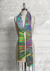Rainbow World Dreams 2 - Modal Scarf