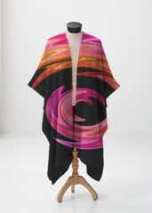 Rainbow Swirl Wrap - Sheer Wrap