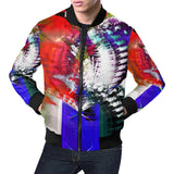 Patriotic Heart -Mens Casual Jacket Men's All Over Print Casual Jacket (Model H19)