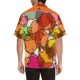 Mosaic Magic Men's All Over Print V-Neck Shirt (Model T58)