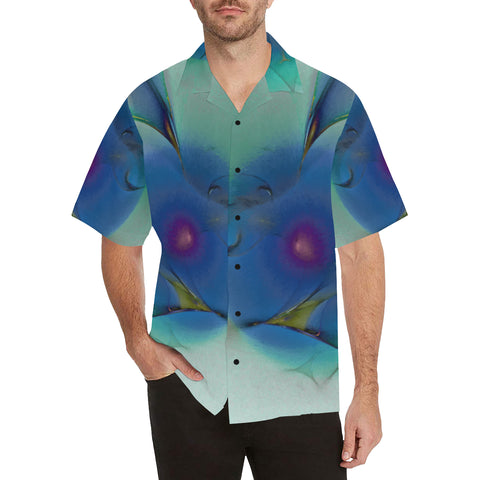 Imagine It 4 - Blue Life Men's All Over Print V-Neck Shirt (Model T58)