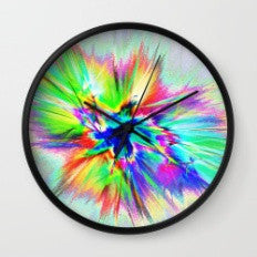 Cosmic Blast -Wall Clock