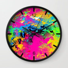 Ocean of Color - Wall Clock
