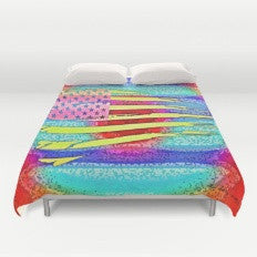 Patriotic Moment 1 - Duvet Cover