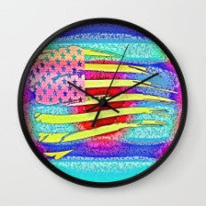 Patriotic Moment 1 - Wall Clock