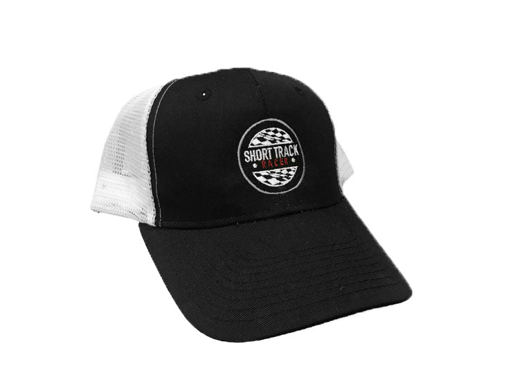 Round Logo Snap-Back Trucker Hat