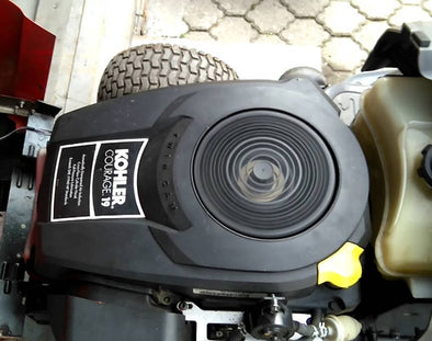 Replacing a Single Cylinder Kohler Engine on your Ride On
